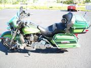 HARLEY-DAVIDSON ULTRA CLASSIC 2 tone green