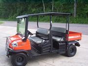2009 Kubota RTV 1140 CPX Crew Diesel 4X4