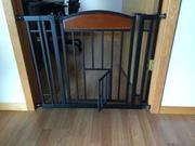 Carlson Home Decor walk through pet gate