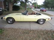 1974 Jaguar XKE Series 3 V-12 E type Primrose Yellow OTS AC AUTO